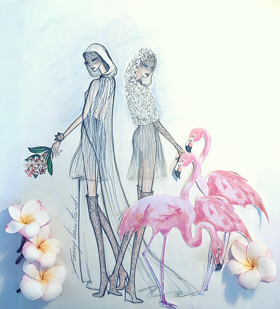67713d45b2bfe Fanny Liautard capes et robes de mariées Fanny Liautard Paris