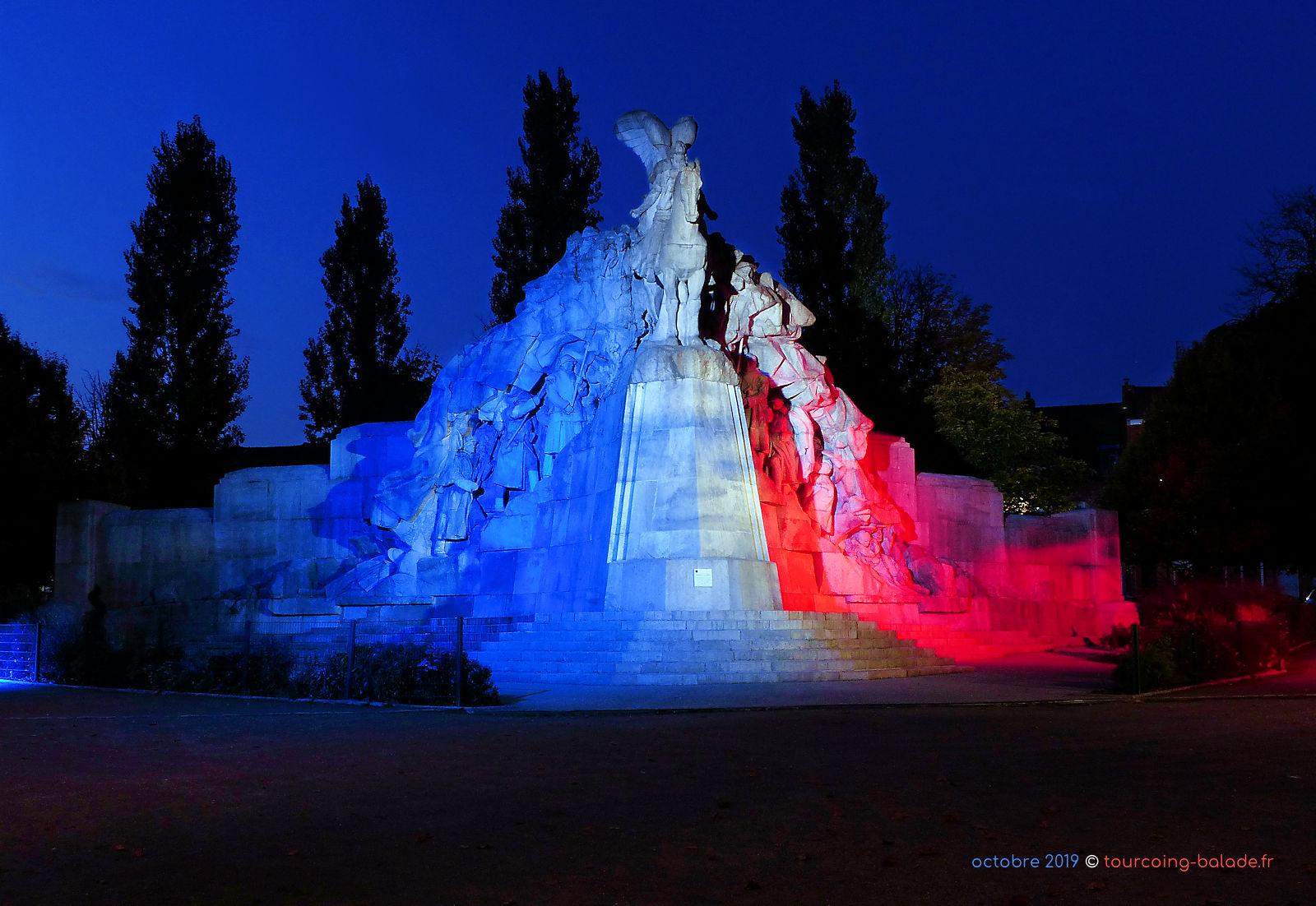 Monument de la Victoire - Tourcoing nuit 2019