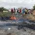 Moradores fecham trecho da BR-020 no Ceará após distrito ficar sem abastecimento de água