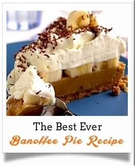 The Best Ever Banoffee Pie Recipe