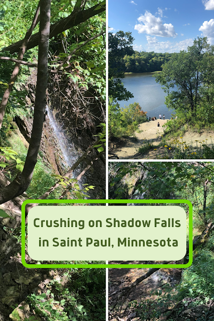 Shadow Falls Park Provides a Minnesota Hike Complete with Stunning Ravine, a Gentle Waterfall and Mississippi River Views