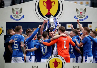 St. Johnstone FC Campeão da Copa da Escócia de 2020/21