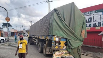 Again, Rivers Taskforce Catch Northerners Hidden In Trailer With A Fake Lockdown Pass