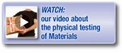Watch our video about testing of materials