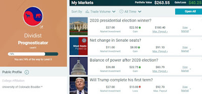 Dividist Predicts Election Outcomes