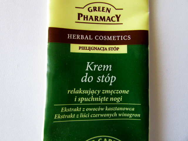 Green Pharmacy - krem do stóp