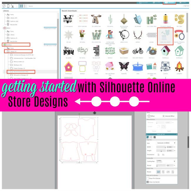 Silhouette Studio designer edition tutorials, Silhouette Studio Software tutorials, Silhouette Design Studio tutorials, silhouette tutorial, silhouette cameo tutorial for beginners, how to use silhouette studio