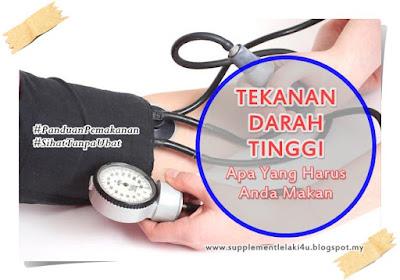kawal tekanan darah tinggi
