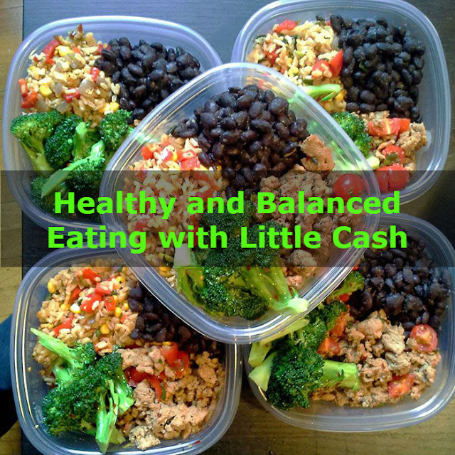 Healthy and balanced Eating with Little Cash - healthyinfo.com