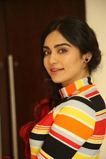 Adha Sharma in a Cute Colorful Jumpsuit Styled By Manasi Aggarwal Promoting movie Commando 2 (114).JPG