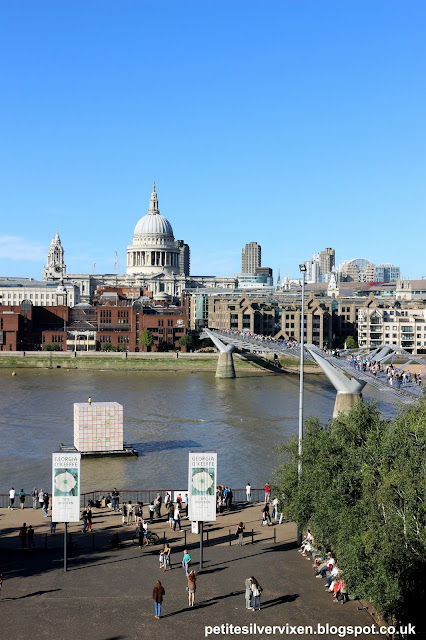 View from Tate Modern across to St Paul's Cathedral | Petite Silver Vixen