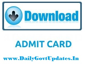 UP Police Constable PET Admit Card Download - DailyGovtUpdates.In