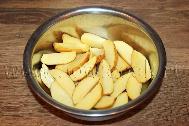 рецепт картофеля по-деревенски с пошаговыми фото