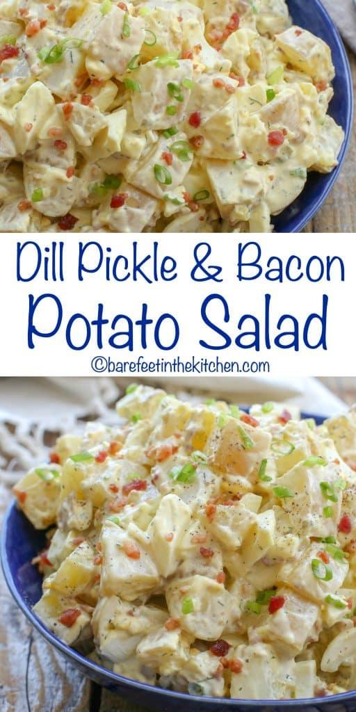 Easy Bacon Potato Salad