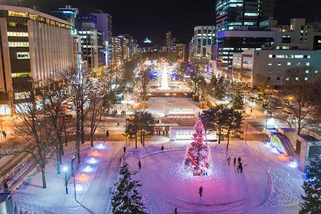 Sapporo Hokkaido  Taman Odori