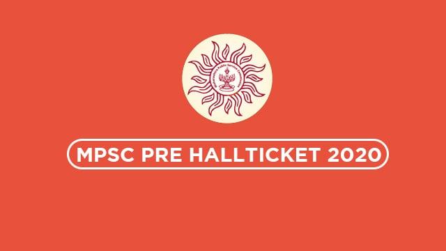 MPSC Hallticket 2020 | Download Here Direct Link