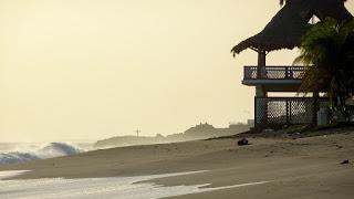 Sunset Leon Beach