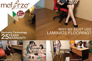MEFORZE Laminated Flooring