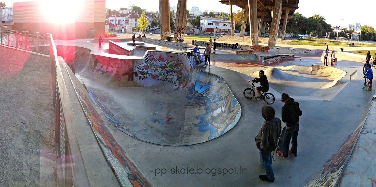 Skate park Arcueil Cachan