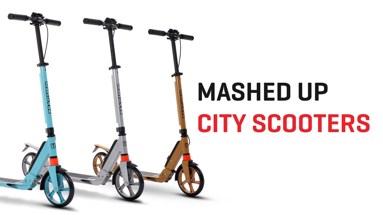Mashed Up City Scooter