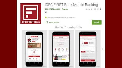 IDFC first bank mini statement -Mobile app