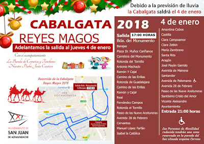 San Juan de Aznalfarache - Cabalgata de Reyes 2018