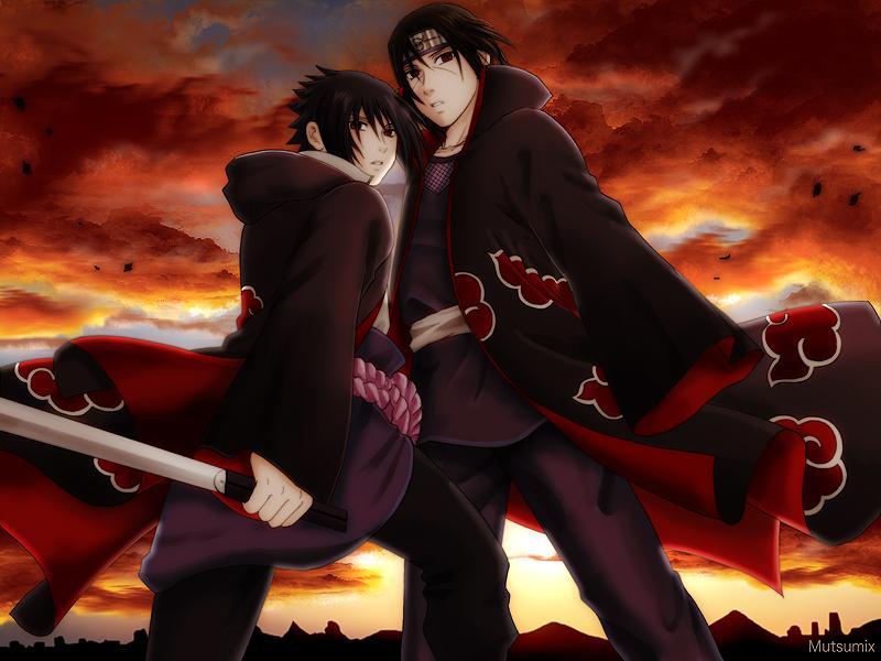 Gambar Sasuke Uchiha Wallpapers Keren Hd Gambar Kata Kata: Foto Sasuke Dan Itachi Vs Kabuto