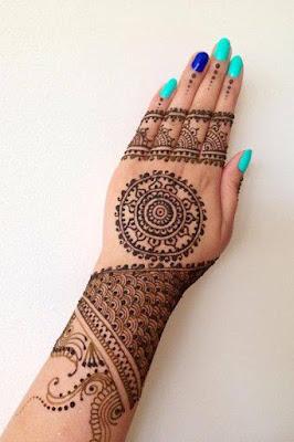 Beautiful Dulhan Mehndi Designs For Hands