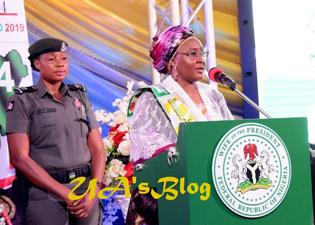Vote Buhari Again, Aisha Urges Nigerian Women