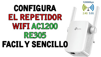 Repetidor wifi AC1200 RE305