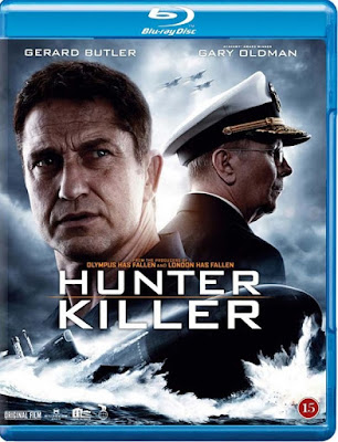Hunter Killer (2018) Dual Audio [Hindi – Eng] 720p BluRay HEVC ESub x265