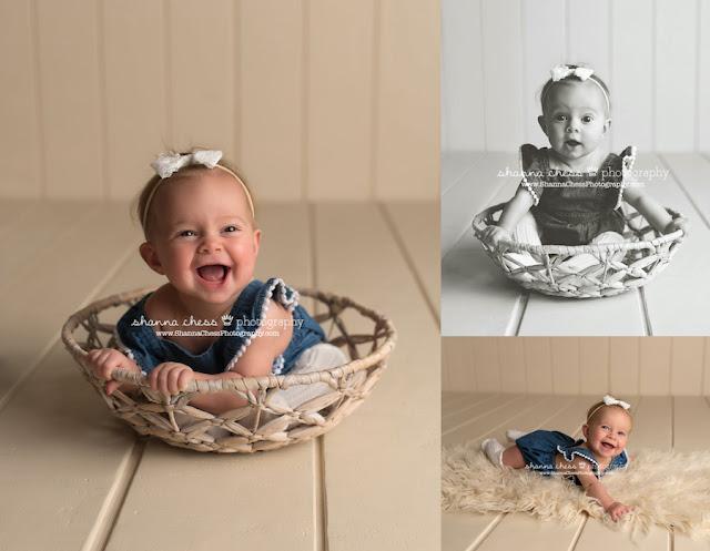 eugene oregon baby portraits