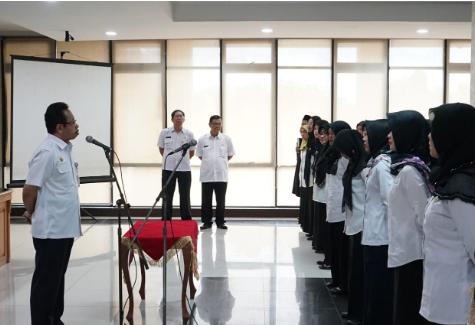 Pemkab Bekasi Lantik 120 Pejabat Fungsional Bidang Kesehatan