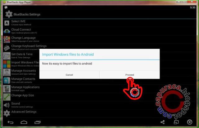 Cara menambahkan file ke bluestacks terbaru