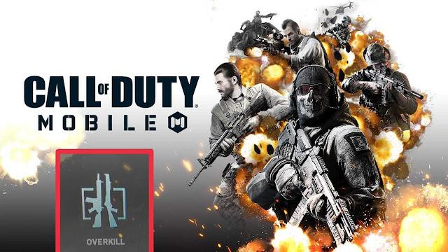 كيفية فتح Overkill Perk في Call of Duty Mobile