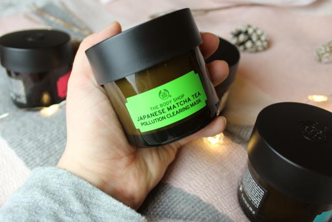 The Body Shop Japanese matcha tea face mask