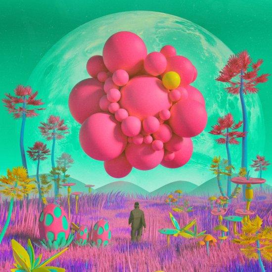 Mike Winkelmann Beeple ilustrações surreais psicodélicas ficção científica fantasia vintage onírico