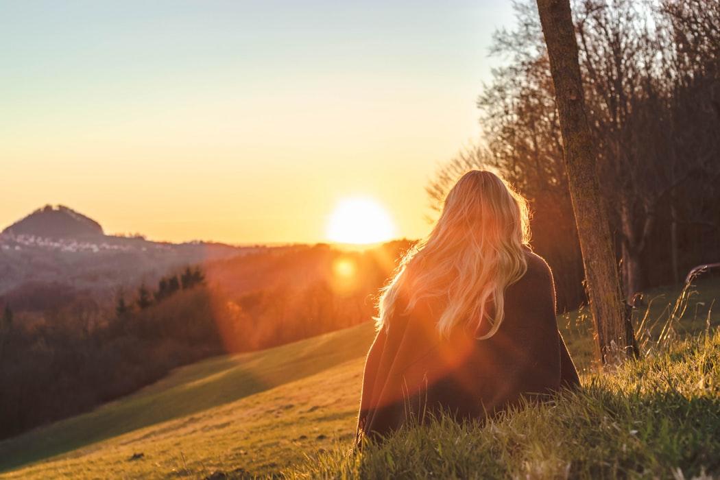 Sens życia - być sobą we właściwym miejscu i czasie.