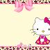 Chic Hello Kitty Free Printable Mini Kit.