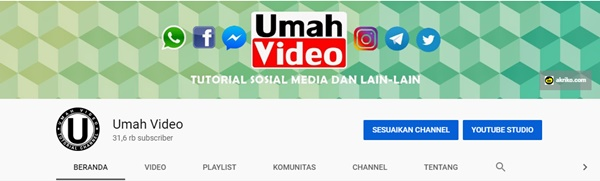 Jasa Content Placement di Channel Youtube Umah Video