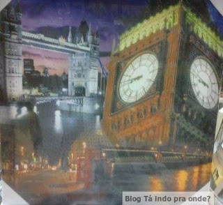 quadro Tower Bridge e Big Ben