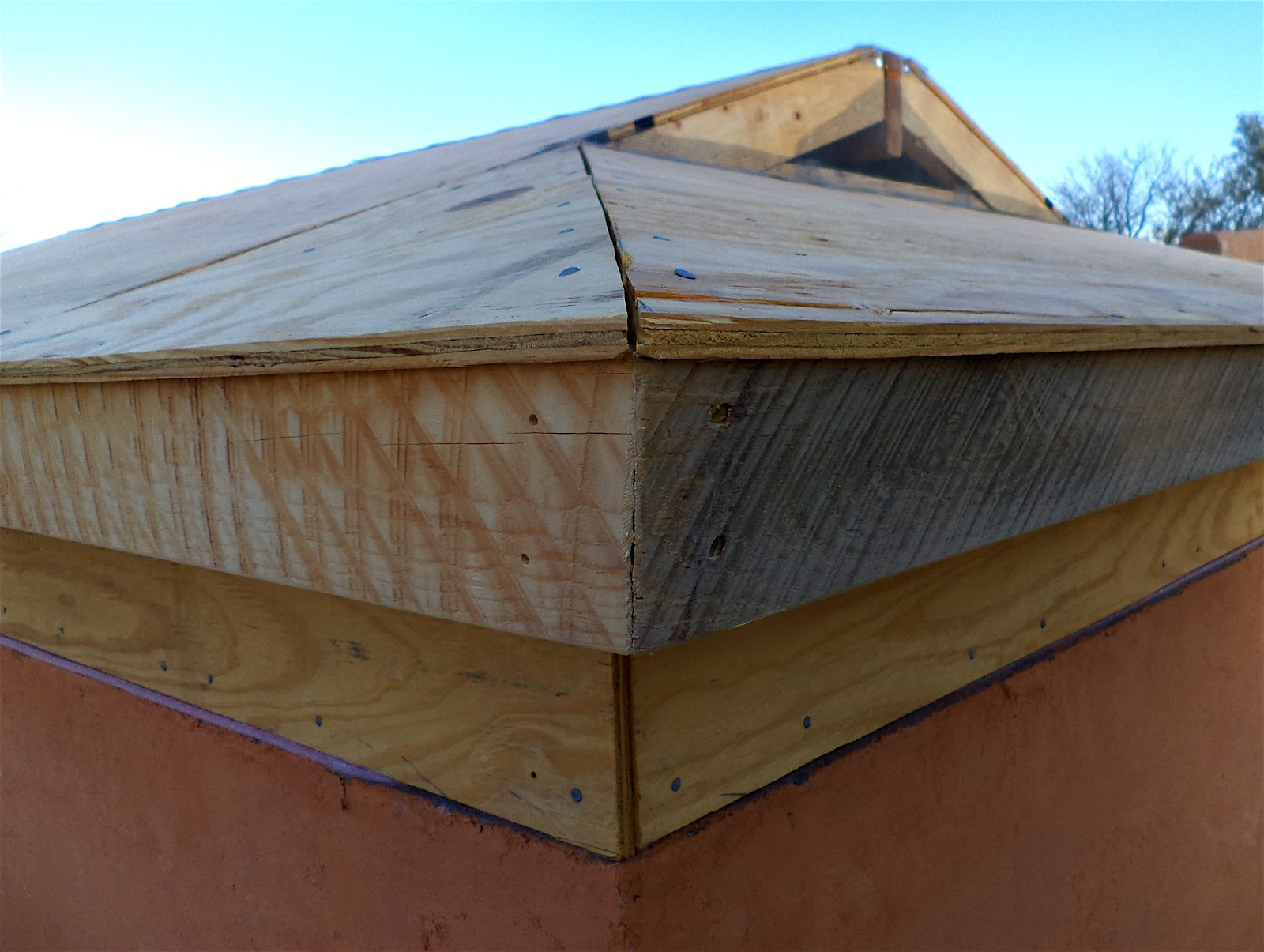 Alt Build Blog Building A Well House 5 Corrugated