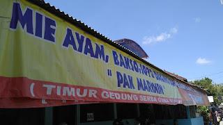 MieAyam, Bakso & Soto Daging Sapi Pak Marimin Siyono Gunung Kidul
