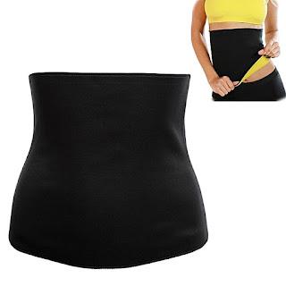 Slimming Breathable Self-heating Elastic Corset Waist Trainer Cincher Belt Shapewear