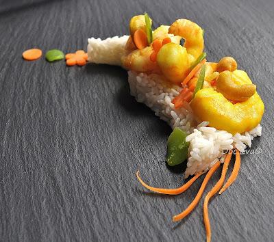 Currygarnelen