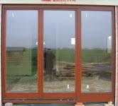 Drzwi tarasowe drewniane