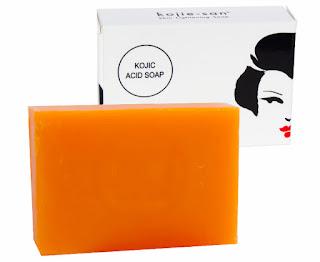 Tips menghilangkan jerawat dengan sabun kojie san kojic acid soap