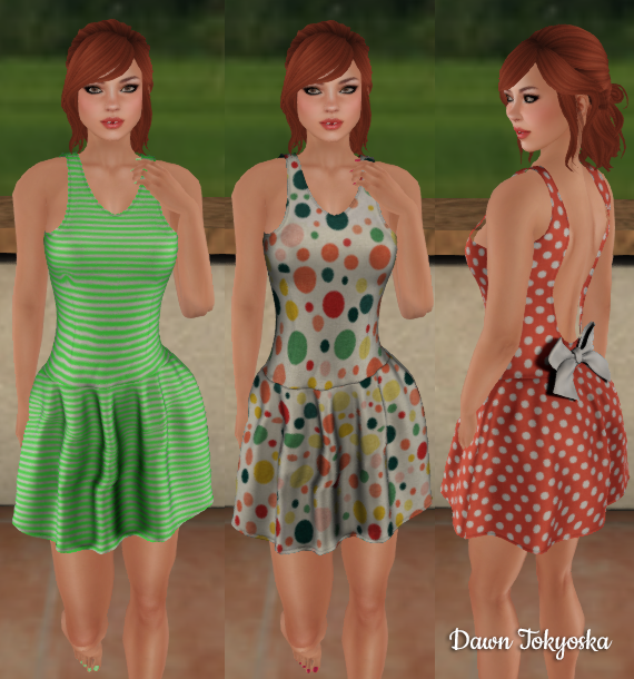 e940dff7f81f First we have a charming and versatile selection from the JK Style cart,  their Molly dress which comes with a HUD for 6 texture options, 3 shown  above.