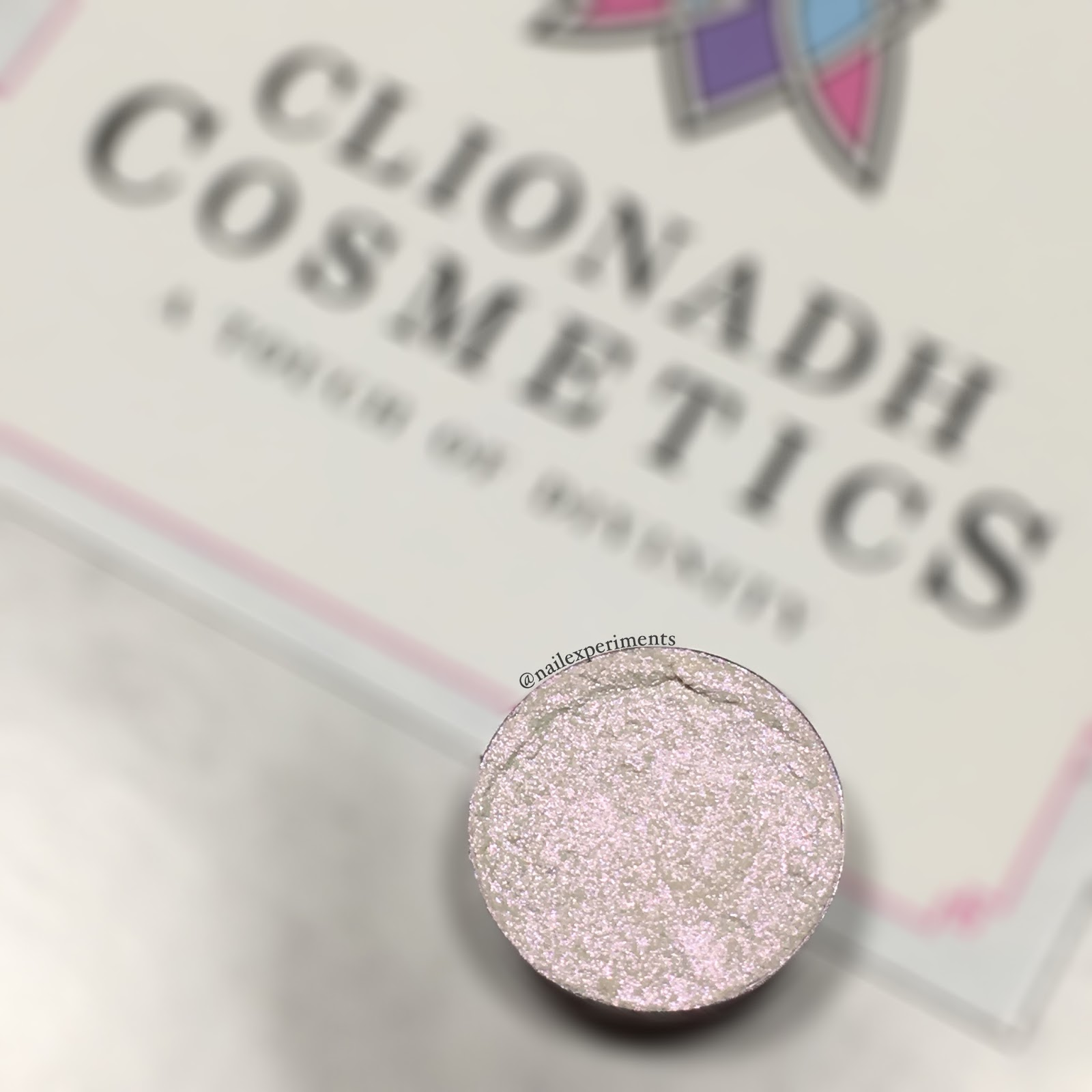 Nailexperiments swatches Spark from Clionadh Cosmetics