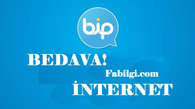 Bip Uygulaması Modlu Haftalık 2 GB İnternet Hilesi Yapımı 2020
